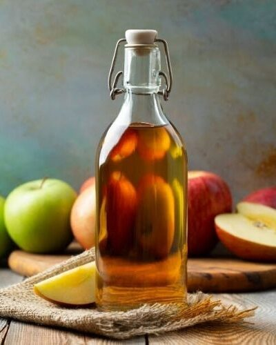 Learn how to make a homemade fire cider vinegar as a natural cold and flu remedy. This traditional, warming apple cider vinegar tonic acts as a holistic decongestant while also supporting immune health.
